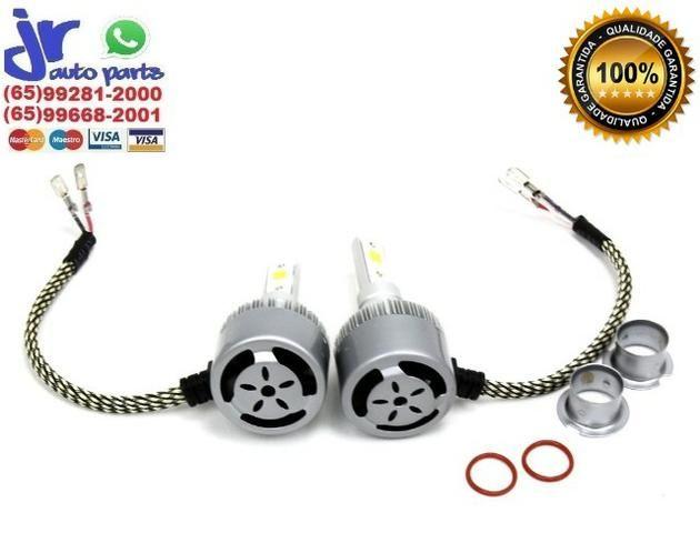 H3 - Kit Lâmpada Ultra LED Headlight H3 6000K 12V 24V - Foto 2