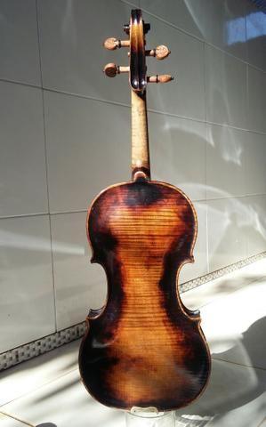 Extraordinário* Violino Antigo, Francês, Centenário. Raridade. Link de vídeo na descrição - Foto 3