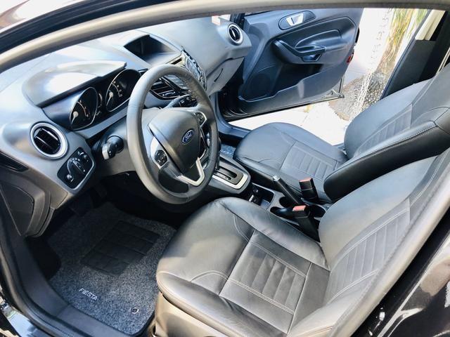 Ford Fiesta 1.6 Titanium Automático 2014 impecável - Foto 16
