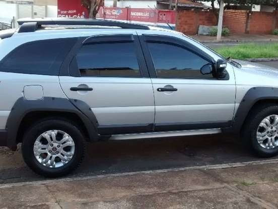 Fiat palio 1.8 adventure dualogic weekend flex 4p - Foto 2