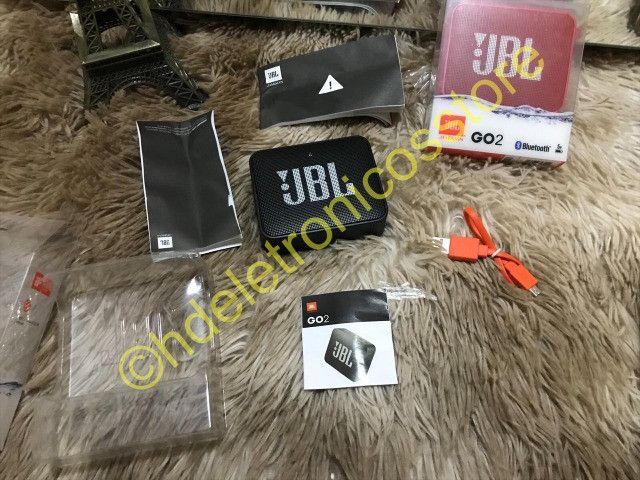 Caixinha Som Bluetooth Sem Fio Jbl Go 2 À Prova D'agua original - Foto 2