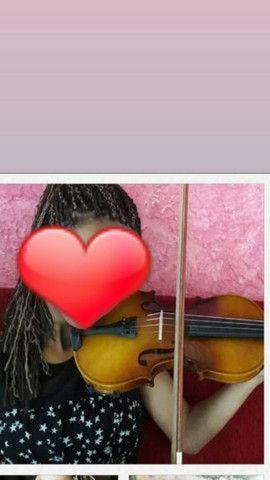 Violino novo, poucas vezes de uso - Foto 3