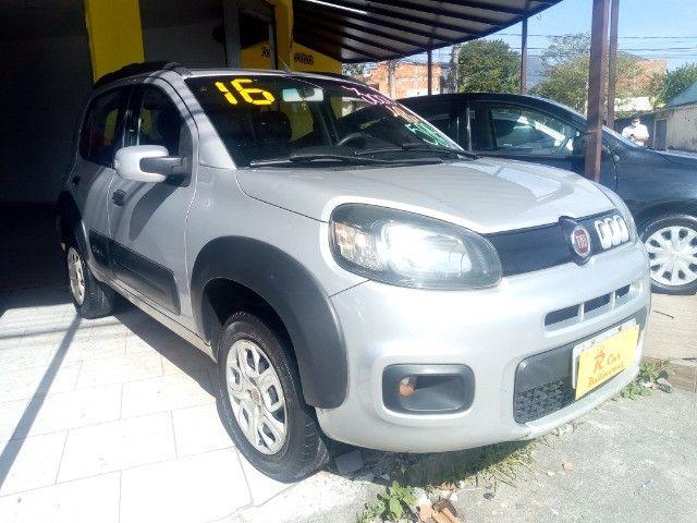 Fiat Way 1.4 completo + Gnv ent + 48 x 770,00 1ª parcela pago pela loja - Foto 2