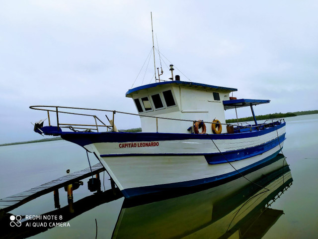 Barco de turismo e pesca esportiva