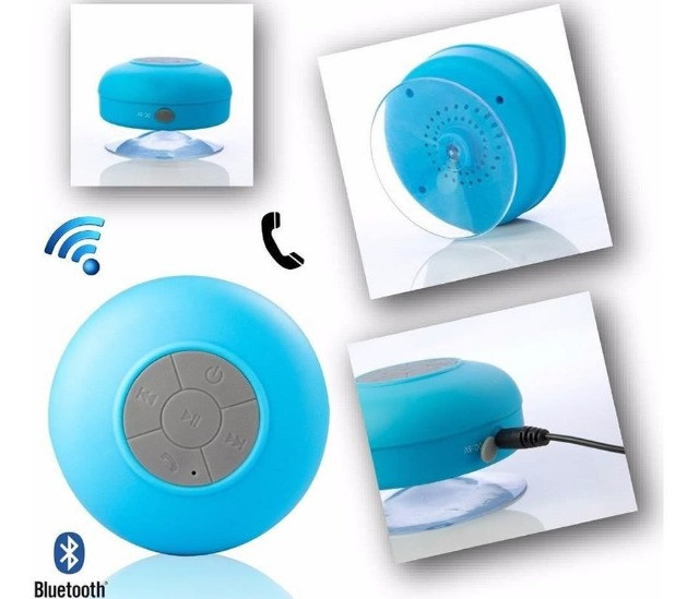Mini Caixinha Som Bluetooth Portátil Prova Água Ventosa - Foto 4