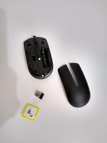 Teclado e mouse wireless Dell original