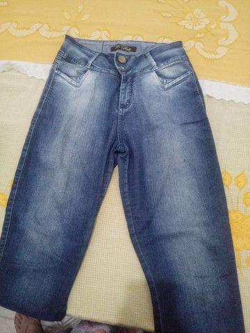 Calças Jeans Femininas Tamanho 42 - Foto 5