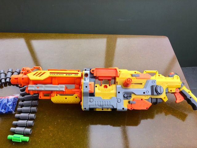 Metralhadora / arma NERF - Foto 6