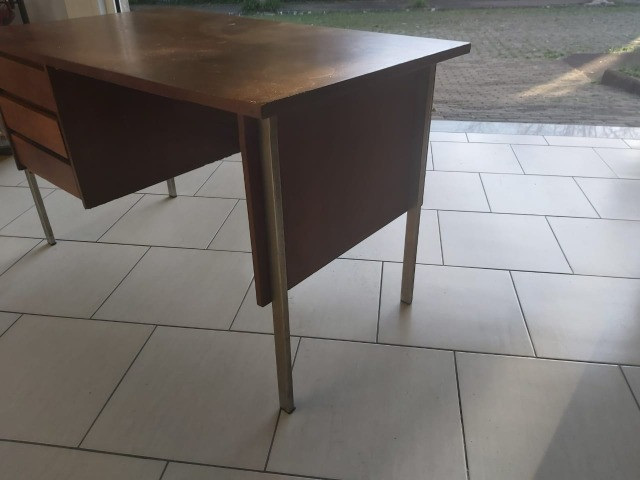 Escrivaninha de madeira para apreciadores-oferta - Foto 4