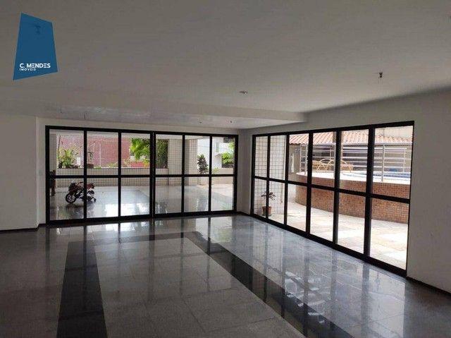 Apartamento com 3 dormitórios à venda, 63 m² por R$ 420.000,00 - Meireles - Fortaleza/CE