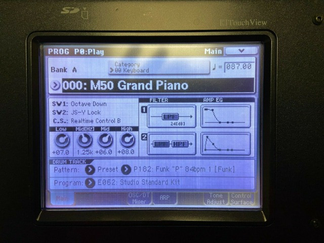 Sintetizador Korg - impecável com Caixa Original