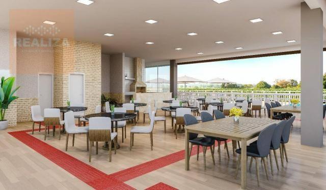 Apartamento com 2 dormitórios à venda, 49 m² no Eusébio. - Foto 3