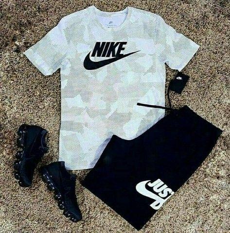 KIT Com 1 Bermuda + 1 camiseta + 1 tênis adulto Original  2021 - Foto 6