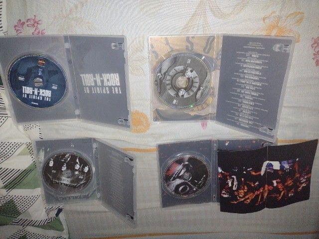 CDs e DVDs de Rock - Nacional e Internacional - Leia a descrição - Foto 5