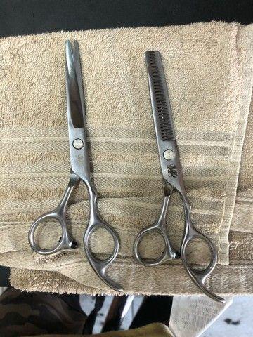 Tesoura para barbeiro