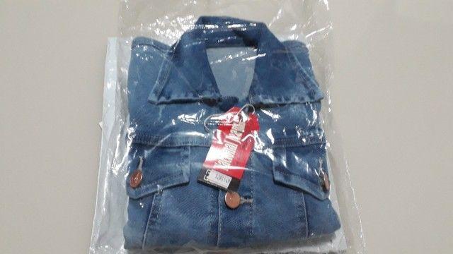 Jaqueta Jeans Infantil Feminina - Foto 3