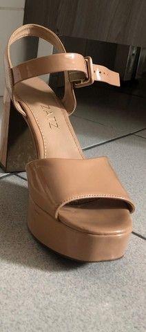 Sandália nude rosado - Foto 4