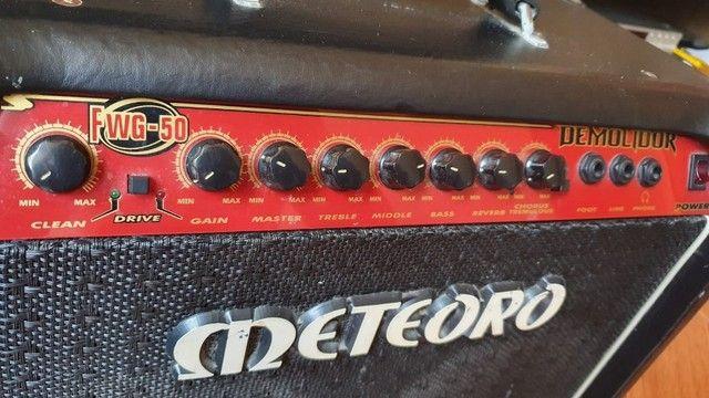 Amplificador p/ Guitarra Meteoro Demolidor FWG-50 - Foto 3