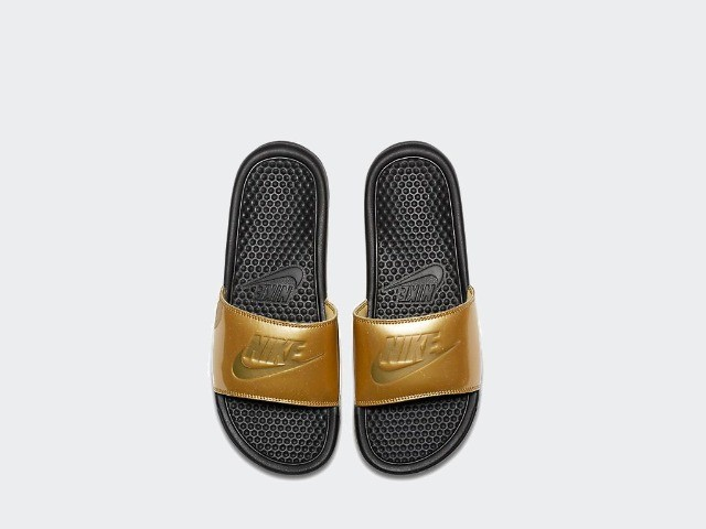 Chinelo feminino Nike Benassi jdi print tamanho 35 e 39 - Foto 2