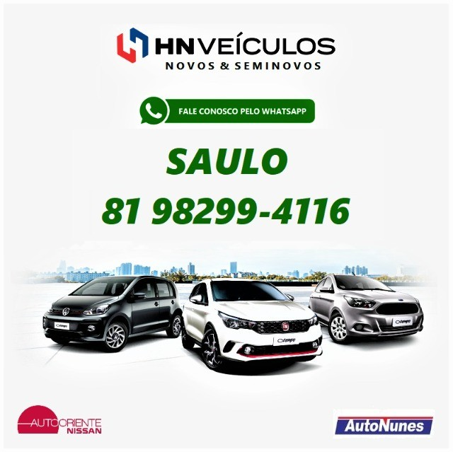 Sandero Authentique 1.0 2018 HN Veículos (81) 9 8299.4116 Saulo  - Foto 2
