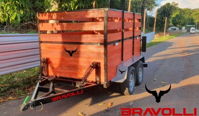 Reboque e Carretinha BRAVOLLI ' RO Suporte e assistência em todo Brasil  - Foto 5