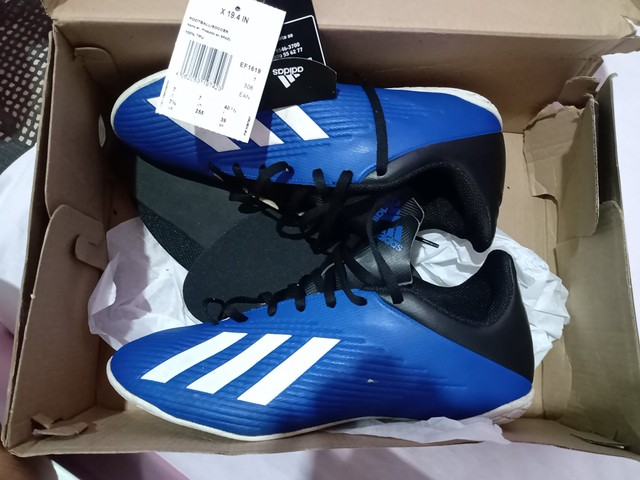 Chuteira futsal n39 Adidas original - Foto 2