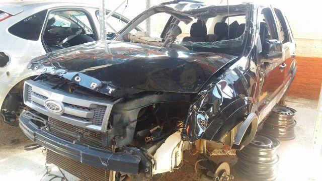 Peças usadas Ford Ecosport 2011 2012 1.6 8v 107cv flex câmbio manual