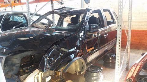 Peças usadas Ford Ecosport 2011 2012 1.6 8v 107cv flex câmbio manual - Foto 2