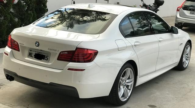BMW 528i 52 mil km único Dono kit M - Foto 10