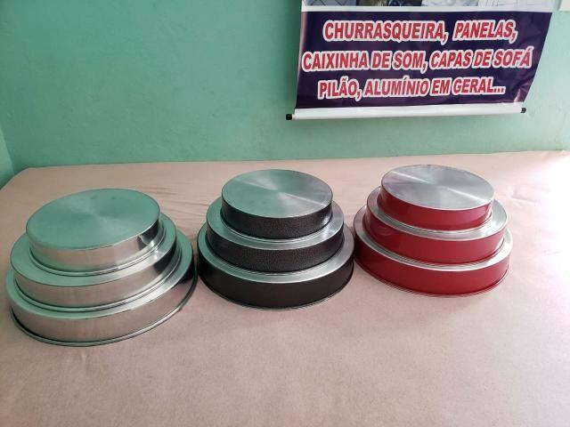 Jogos forma redonda de alumínio - Foto 2