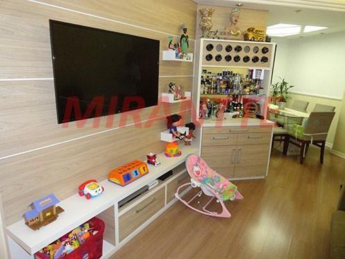 Apartamento à venda com 3 dormitórios em Água fria, São paulo cod:300635 - Foto 2
