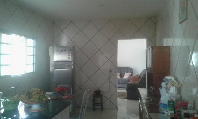 Casa 3/4 quartos c/ súite de laje garagem para 3 carros bairro residencial américa 135 mil - Foto 14