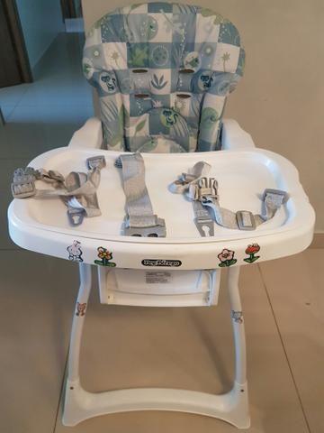 490b1231f2db Cadeira de Alimentação Merenda Peixinho Azul - Original - Burigotto ...