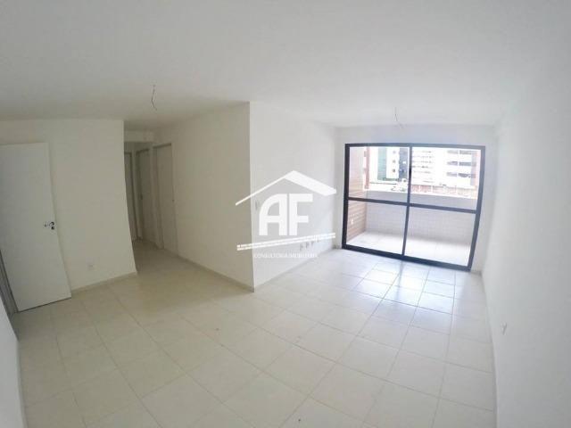 Apartamento novo na Jatiúca - 3 quartos sendo 1 suíte - Prédio com piscina