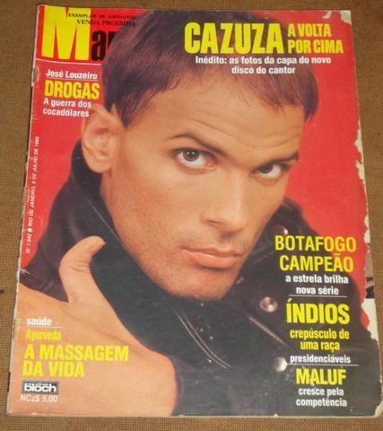 Cazuza - Revista Manchete de 08/07/1989