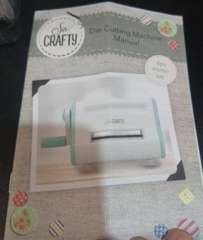 Mini máquina de emboss importada - scrapbook - Foto 6