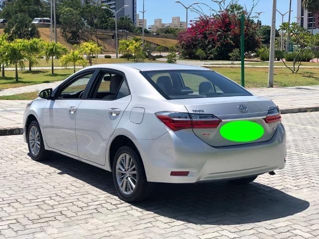 Corolla Impecavel 2018 , C\ Led , Rodas de Liga Leve , Couro , Revisado , Impecavel # # - Foto 18