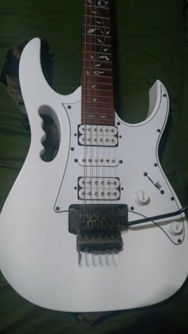 Guitarra Ibanez Jem Jr white Steve Vai floral inlay - Zerada !!! (somente venda)