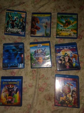 Dvds 3d para blu-ray