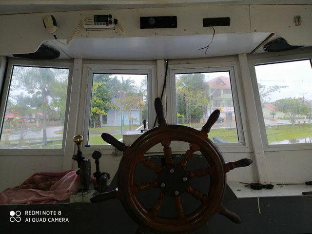 Barco de turismo e pesca esportiva - Foto 6