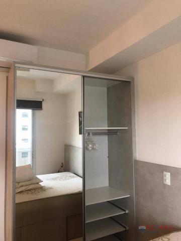 Apartamento com 1 dormitório para alugar, 40 m² por R$ 1.800,00/mês - Jardim Tarraf II - S - Foto 16