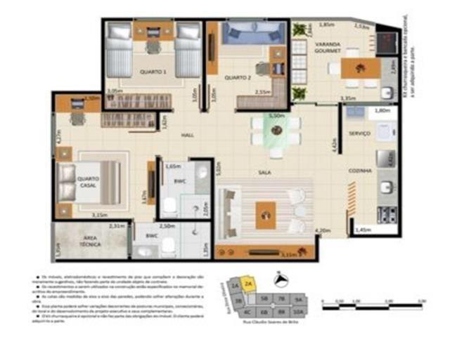 Vendo apartamento Veranda Ininga - Foto 2