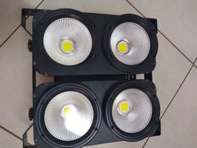 Mini Brute de led 4x100w Deluxe - Foto 4