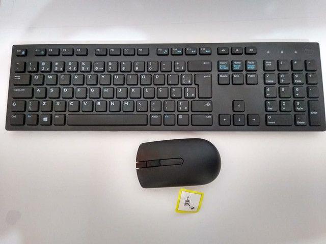 Teclado e mouse wireless Dell original - Foto 2