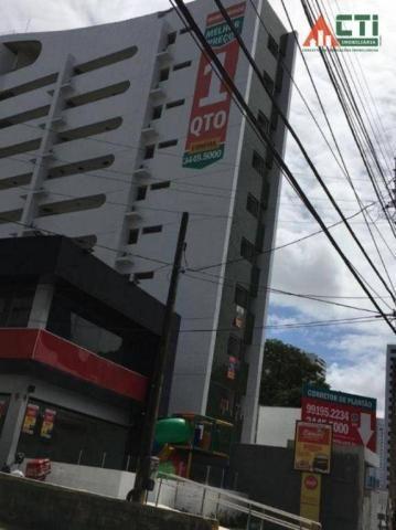 Flat com 1 dormitório para alugar, 40 m² por R$ 2.000,00/mês - Madalena - Recife/PE - Foto 15