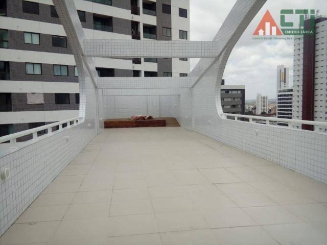 Flat com 1 dormitório para alugar, 40 m² por R$ 2.000,00/mês - Madalena - Recife/PE - Foto 13