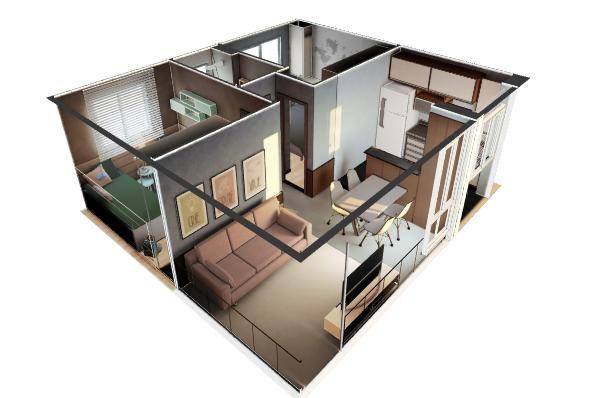 Príncipe de Viana - Apartamento 2 quartos em Presidente Prudente, SP - 45m² - ID4070 - Foto 6