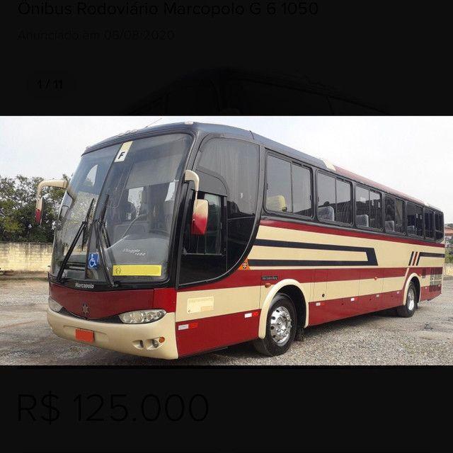 ônibus rodoviário marcopolo g 6 1050 - Foto 2