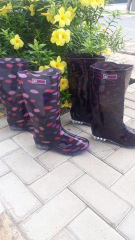 Lindas botas feminina  - Foto 4
