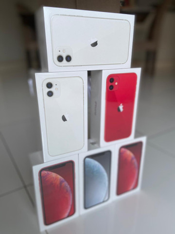 IPhone XR / 11 - 64 e 128 GB - Original - Lacrado - Novo - Garantia 1 ano - Foto 2